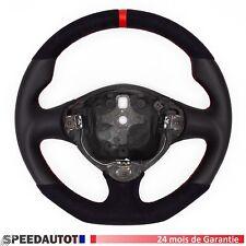 Volant Alcantara Cuir Aplati ALFA ROMEO 147 GT GTA.24MOISDEGARANTIE!