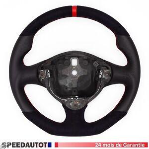 Volant Alcantara Cuir Aplati ALFA ROMEO 147 GT GTA Echange standard-