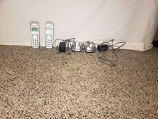 Panasonic KX-TG4021 Home Phone With 2 Cordless Handsets Rechargable Tested Works