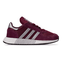 Men's adidas Marathon Boost Casual Shoes Collegiate Burgundy/Silver/Maroon G2786