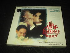 Elmer Bernstein THE AGE OF INNOCENCE CD 2002 RARE CHINESE EDITION China