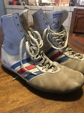 Adidas Boxing Shoes Vintage Made In France