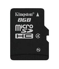 Kingston Sdc4/8gbsp - tarjeta microSD de 8 GB (clase 4 3.3 V) negro