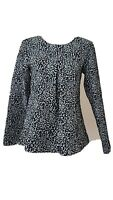Blugirl Folies Ladies Blouse Size 10 <CX3843
