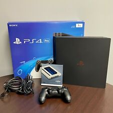 Sony PS4 Pro 4K * SSD INSTALLED 525GB * Original accessories packaging
