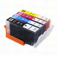 4PK 564 XL Ink Cartridges for C6375 C6380 C6383 C6388 D5445 D5460 D5463 D5468
