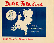 Dutch Folk Songs - Jantina Noorman (2009, CD NIEUW) CD-R