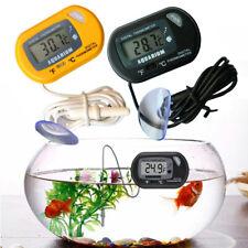 1×LCD Digital Fish Tank Aquarium Thermometer Submersible Water Temperature Meter