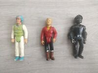 Vintage Fisher Price Action Figure Job Lot Clawtron + More