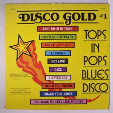 VARIOUS: Disco Gold #1 LP (slight cover wear) Soul
