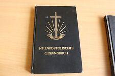Altes Gesangbuch Nak Textausgabe Neuapostolischen Kirche - mit Stempel - Blausch