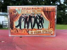 NSYNC NO STRINGS ATTACHED CASSETTE BRAND NEW FACTORY SEALED ITEM USA SELLER