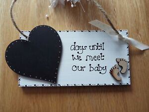 Personalised In This Moment Birth Wood Plaque gift Present