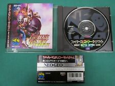 Neo Geo CD -- Fighter's History Dynamite -- spine card. JAPAN GAME. SNK. 14713