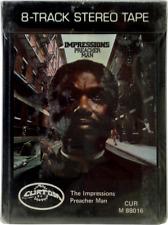 The Impressions - Preacher Man 1973 RARE NEW SEALED 8-TRACK 8 TRACK 70s Soul R&B