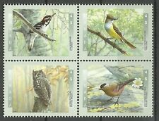 Canada Fauna Woodpecker Flycatcher Rosy Finch Owl Raptors Birds of Prey ** 1998