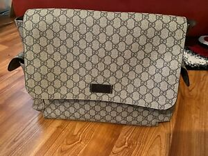 Authentic Gucci Monogram Baby Diaper Bag