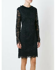 Marc by Marc Jacobs Long Sleeves Lace Dress Black 6 New