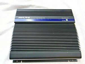 OLD SCHOOL ALPINE 3549 2 CHANNEL AMP WITH A BUILT IN CROSSOVER & BIG POWER