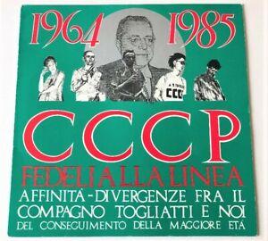 CCCP - Fedeli Alla Linea - 1964-1985 Affinità-Divergenze... vinile