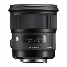 Sigma Art 24mm f/1.4 HSM DG Lens For Nikon