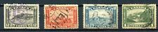 Canada Used Lot #174-77 High Values Arch/Leaf Issue  Nice CDS 1930 J222