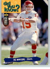 1995 Collectors Choice #34 Joe Montana