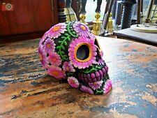 More details for sugar petal skull. nemesis now, day of the dead,  lovely gothic gift. 14.5cm