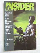 DARK HORSE COMICS INSIDER #7 - July 1999