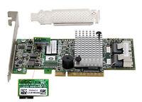 LSI 9267-8i 6Gb/s 512MB 8Port Internal SATA/SAS Controller Card RAID 5 US seller