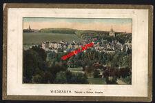 Wiesbaden-Nerotal-Griech-Kapelle-kunstkarte-um 1900-Darmstadt-Hessen-1