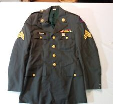 US 3rd Army 101st Airborne Division Service Jacket Vietnam 3 Campaign Sergeant