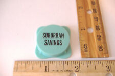 ~VINTAGE~SUBURBAN SAVINGS~PLASTIC BOTTLE CAP~