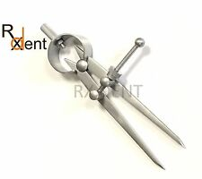Dental Lab Spring Calipers Crown Implants Instruments Jewelers Caliper ccalip