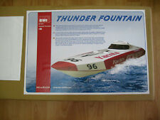 BMI Thunder Fountain RC Speed Boat with pre-installed motor (New) (Boxed)