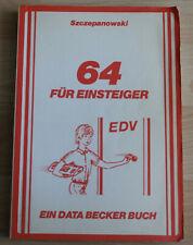 64 Pour Débutant, Un Data Becker Livre Fourrure Commodore #01