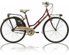 BICICLETTA 26'' CINZIA FRIENDLY BICI OLANDA LADY ROSSA VERDE DONNA CITY BIKE