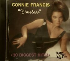 CONNIE FRANCIS 'Timeless' - 30 Biggest Hits!