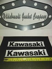KAWASAKI GAS TANK DECALS X 2 ($11.99ca ON SALE )  10 INCH  KZ LTD J Z1 650 750