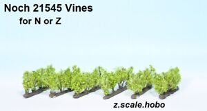 Noch N/Z Scale 21545 Trees Grapes Vines for Winery Vineyard *NEW *$0 SHIPPING