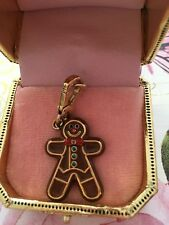 JUICY COUTURE GINGERBREAD MAN BRACELET CHARM IN BOX