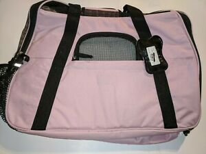 OxGord Soft Sided Airline Approved Travel Pet Carrier - Rose - Size: Large