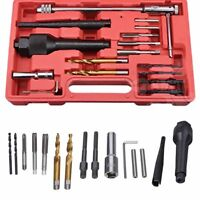 16PC Damaged Glow Plug Removal Remover Tool Set Kit 8mm 10mm Professional RA3 UK