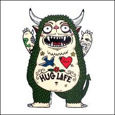 Hug Monster - Weather Proof Die Cut Vinyl Day of the Dead Sticker