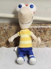 "Disney Store Phineas and Ferb Phineas Flynn 10"" Stuffed Plush Doll"