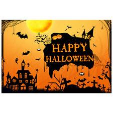 Halloween Party Hintergrund Stoff Spukhaus Hintergrundwand für Store Home Deco