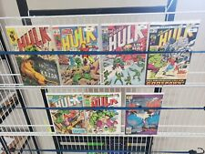 The Incredible Hulk Marvel Silver Age Comic lot 109 131 132 145 193 200 345
