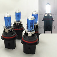 Combo (4Pcs) 9004-HB1 White 100/80W 5000K Xenon Halogen Headlight #k1 Light Bulb