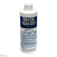Mar-V-Cide Barbers Disinfectant For Brushes and Combs Clippers Or Trimmers 16oz