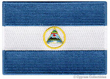 NICARAGUA FLAG embroidered iron-on PATCH CENTRAL AMERICAN EMBLEM applique